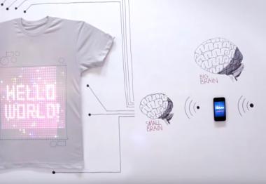 Le T-shirt OS, l'avenir du textile